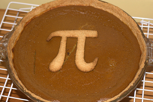 pumpkin pi pie