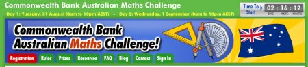 Commonwealth Bank Numeracy week banner
